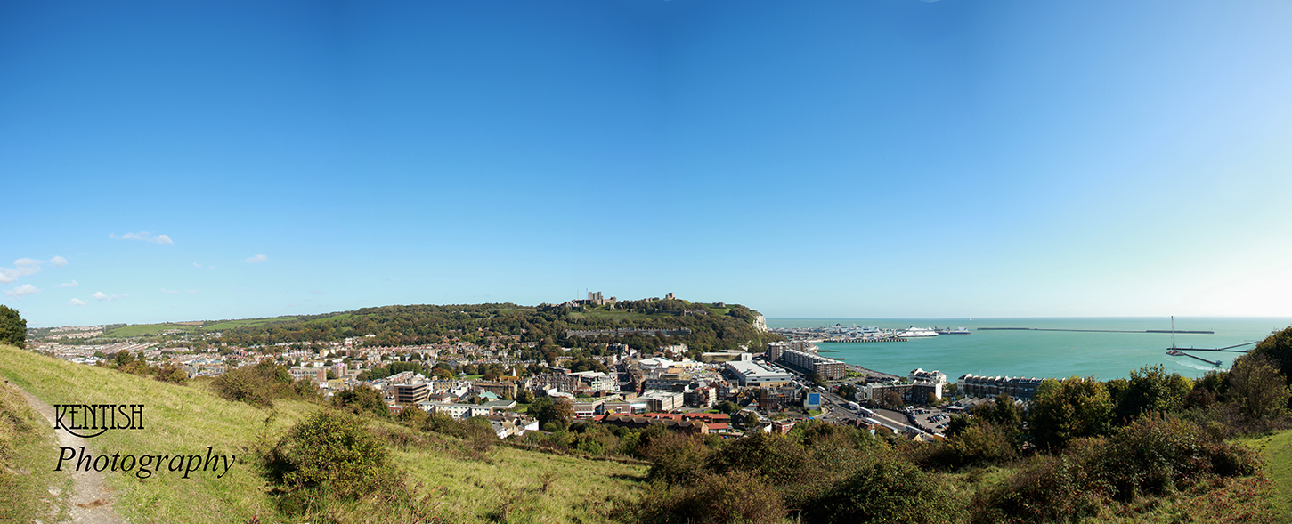 Dover town and port