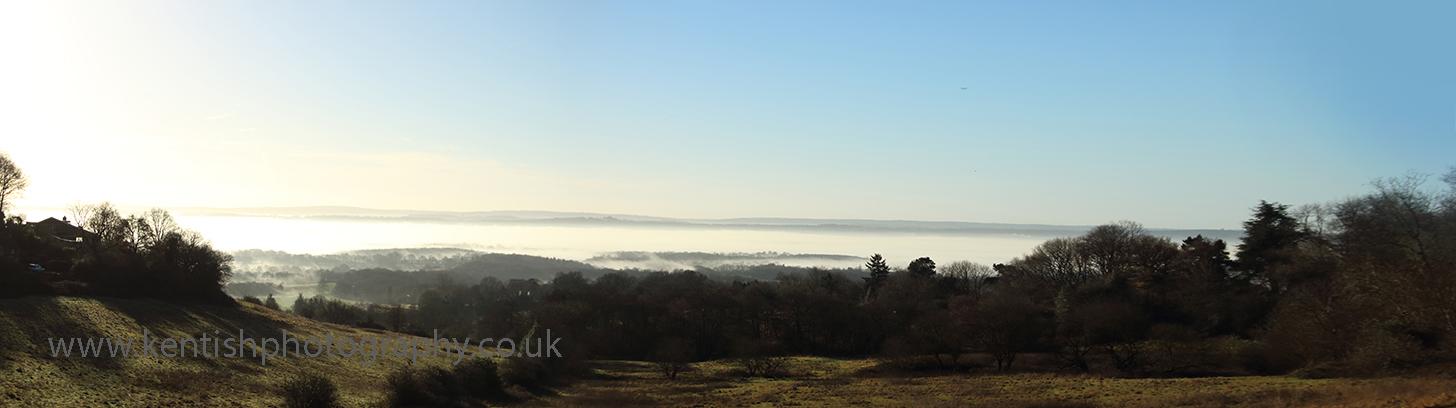 Ide Hill mist